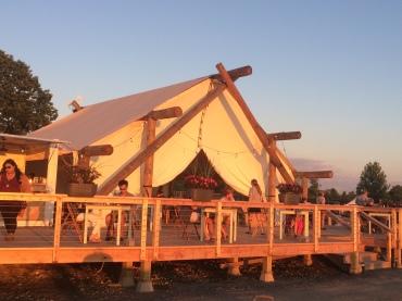 Main reception/dining tent